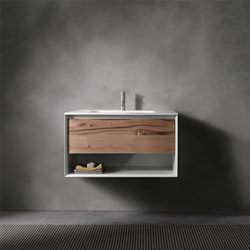 Bathroom Cabinets Vancouver wall-mount bathroom vanities in vancouver - blu bathworks
